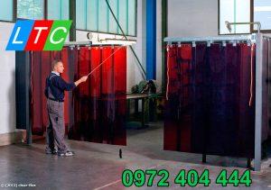 Bảo vệ khu vực hàn an toàn với màn nhựa PVC