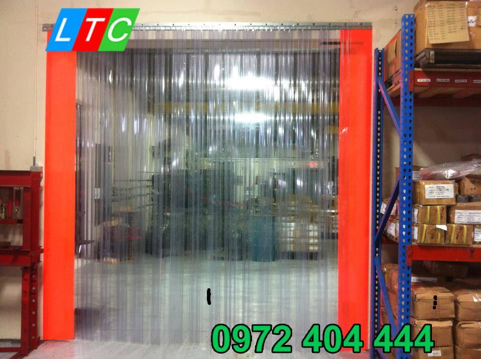 Màn nhựa PVC kín khít đảm bảo hiệu quả hoạt động