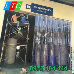 Rèm nhựa công nghiệp giá rẻ và chất lượng