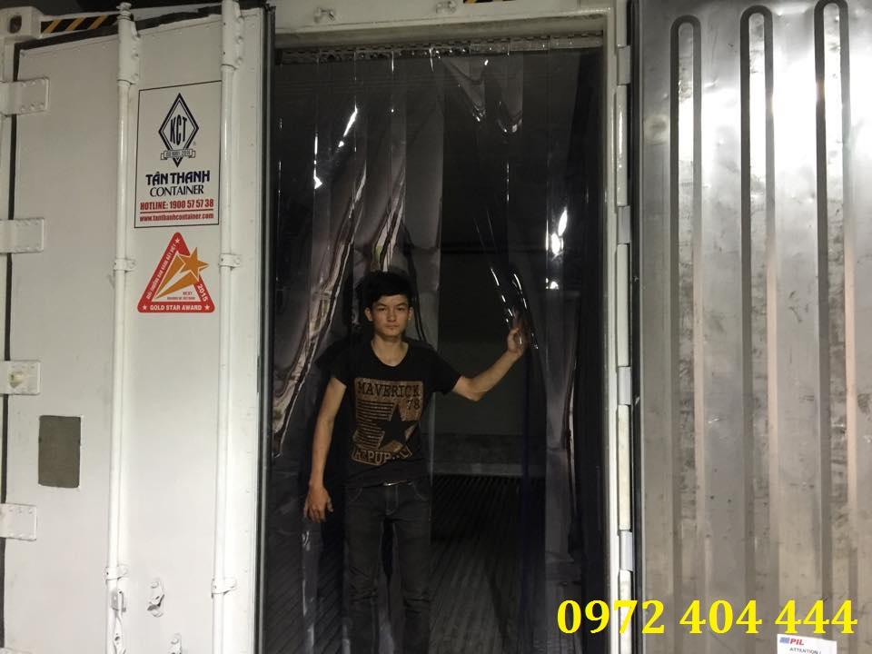 Màn nhựa PVC cho xe container
