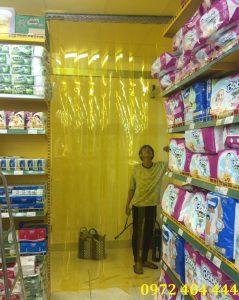 Rèm nhựa PVC ngăn lạnh chuyên dụng cho các siêu thị