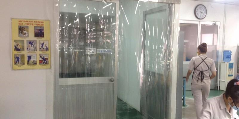 Màng nhựa PVC ngăn lạnh kho thực phẩm