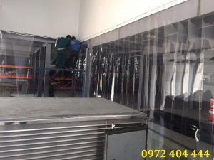 Hình màn nhựa PVC