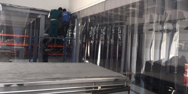 Công ty Lương Tiến thi công màn nhựa PVC