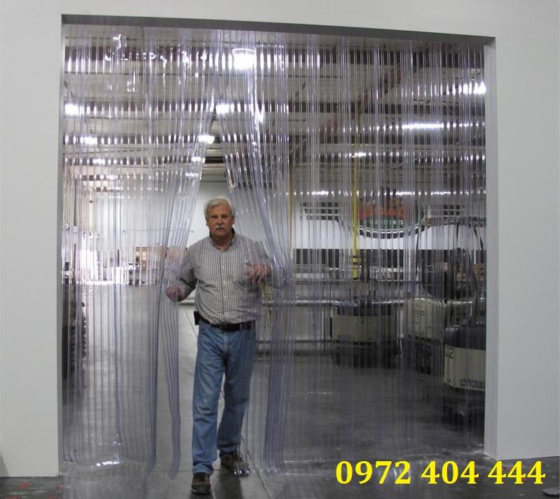Màn nhựa PVC ngăn lạnh cho kho xưởng