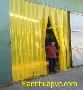 Ám ảnh màu vàng của rèm nhựa PVC