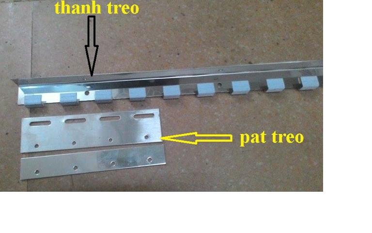 phụ kiện lắp màn nhựa PVC
