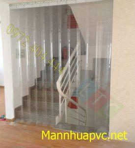 Lắp đặt màn nhựa PVC khu vực có sử dụng điều hòa
