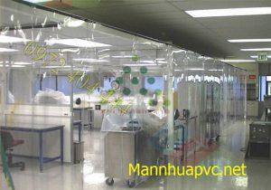 Rèm nhựa PVC ngăn phòng sạch giá rẻ