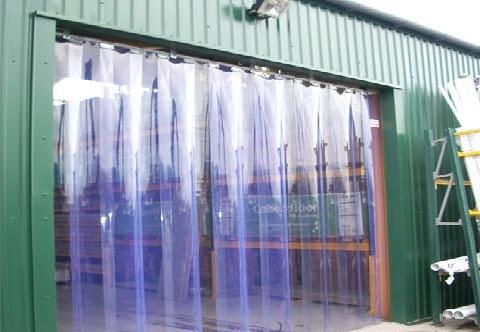 Màn nhựa pvc dùng cho kho hàng