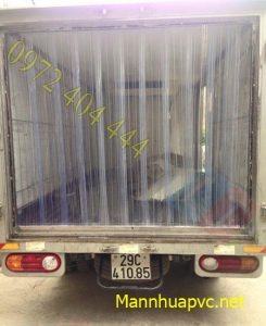 Màn cửa PVC kho lạnh, xe chở thực phẩm đông lạnh