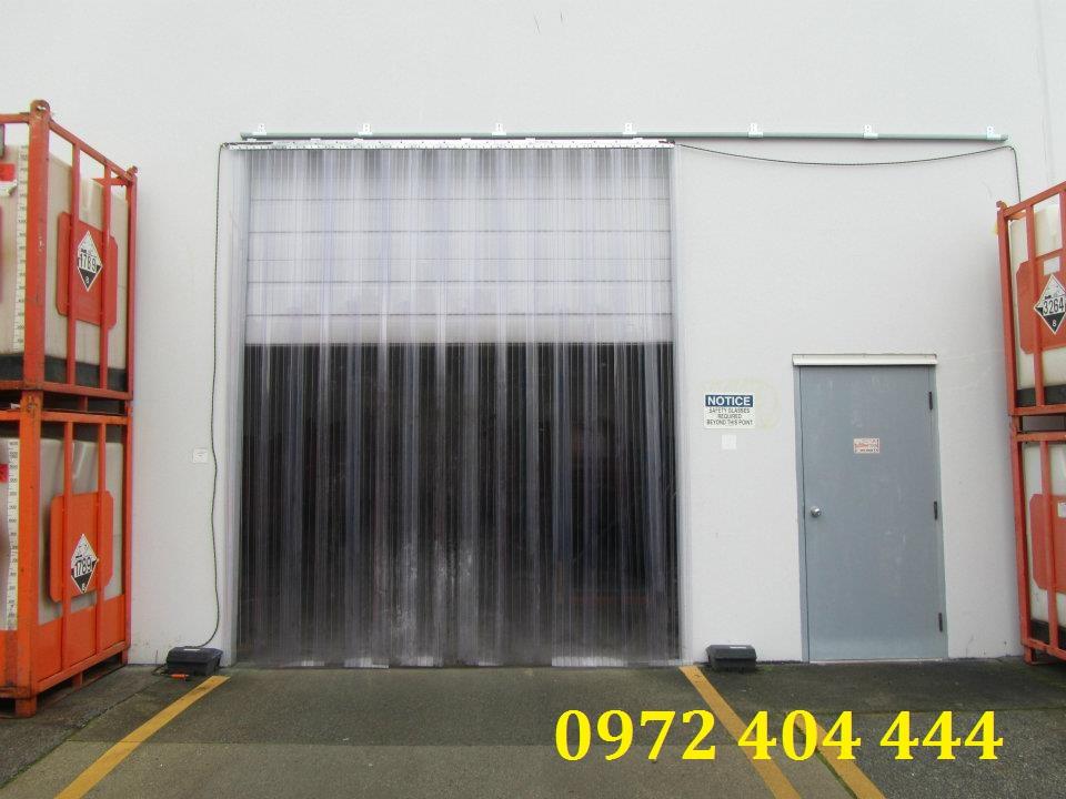 Màn nhựa PVC cửa kho lạnh công nghiệp