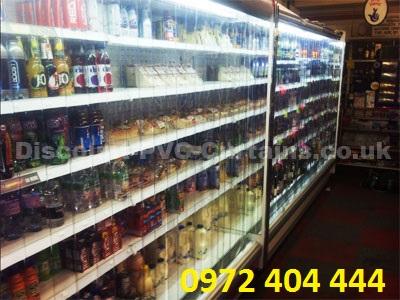 Màn nhựa PVC cho quầy hàng siêu thị