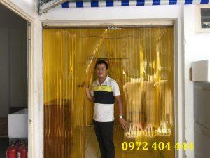 Hình ảnh thi công thực tế màn nhựa PVC Lương Tiến