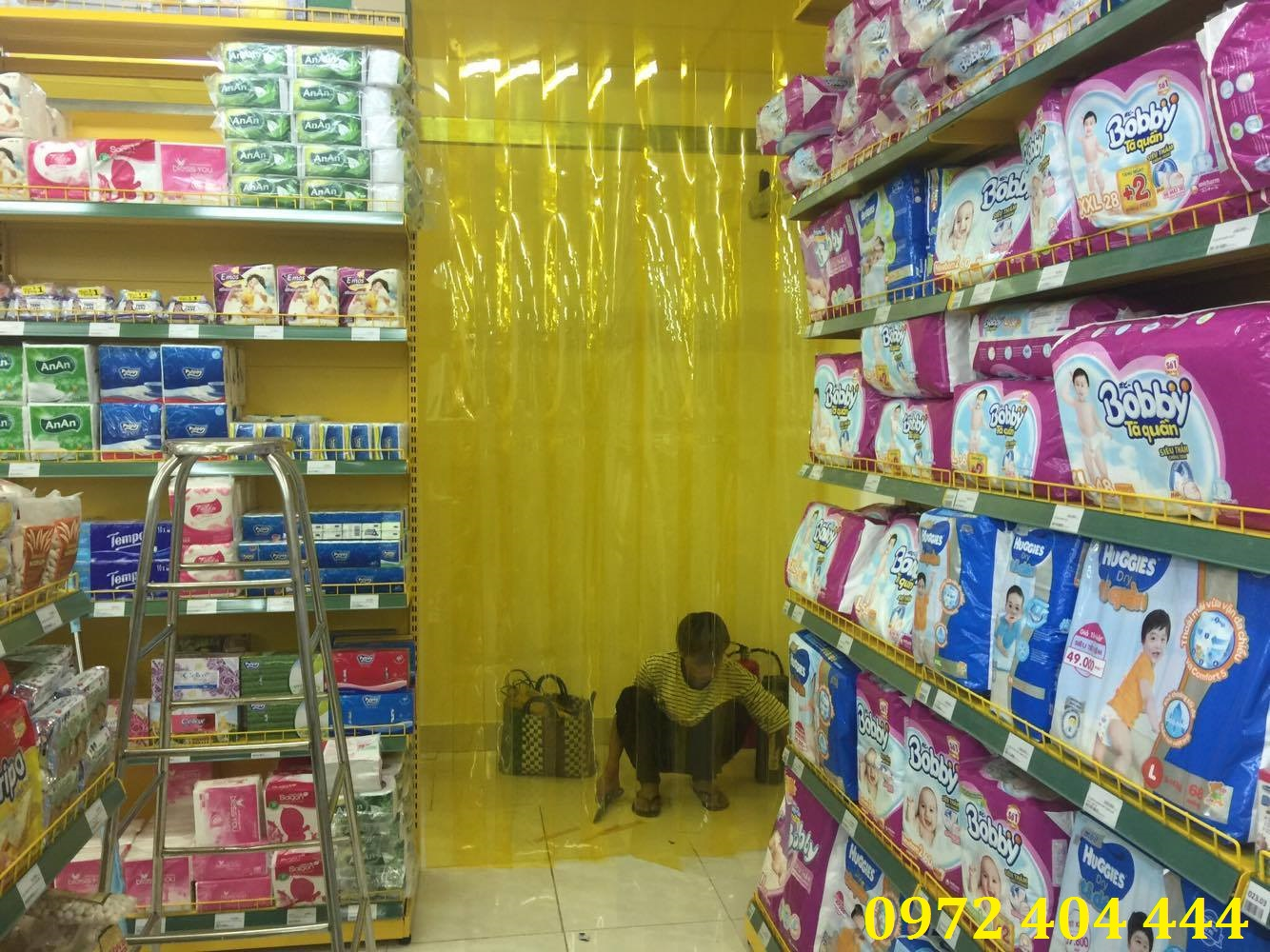 Công ty Lương Tiến thi công rèm nhựa giá tốt