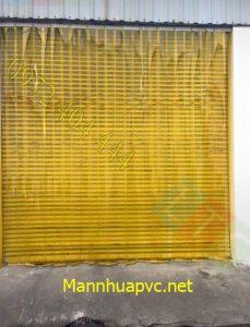 Rèm nhựa màu vàng ngăn côn trùng