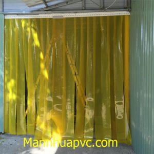 Sử dụng rèm nhựa PVC chống côn trùng
