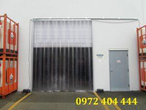 Màn nhựa PVC cửa kho lạnh